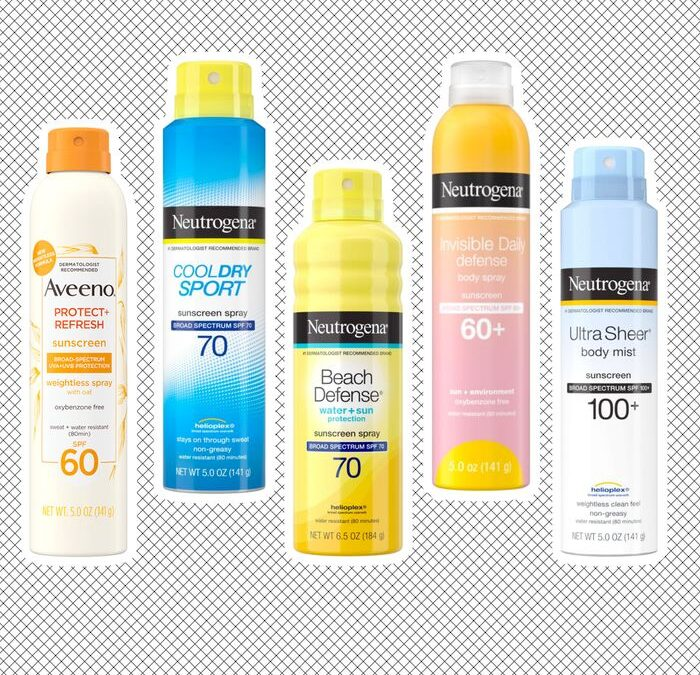 Sunscreen Recall Product Images